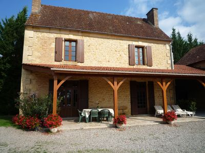 Photo for Beautiful Stone House in the heart of the Black Perigord ow to Sarlat
