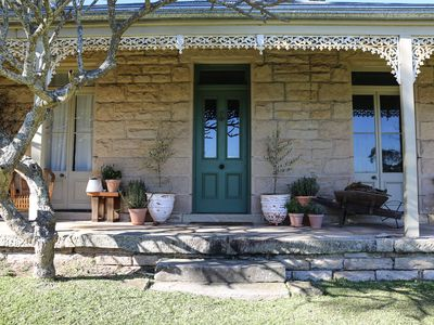 Photo for Simpson Cottage Bundeena. Landmark historical sandstone house with amazing views