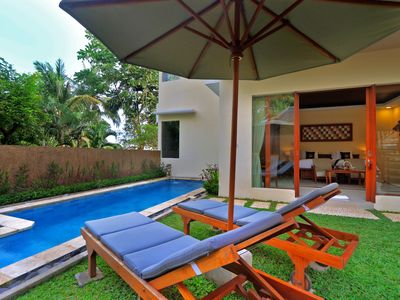 Photo for Luxury Two Bedroom Private Pool Villa in Ubud