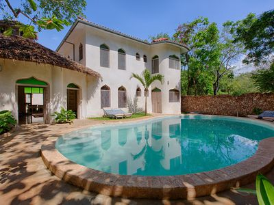 Photo for Stunning villa in beach plot on Diani Beach with big private pool BOHEMIA HOUSE