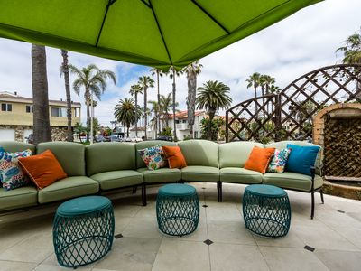 Beach Elegance in Prime HB Location w/ Rooftop Hot Tub w/ Ocean Views and AC!