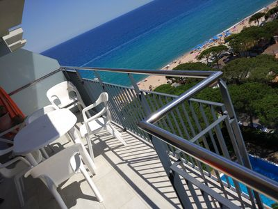 Photo for First line beach penthouse