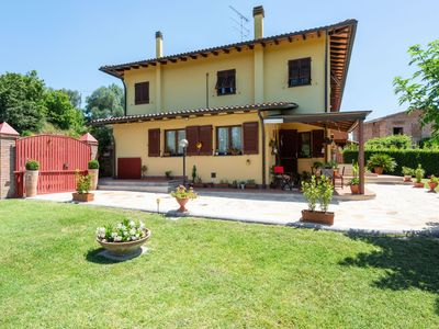 Photo for Plush Holiday Home in San Miniato near Tower of Federico II