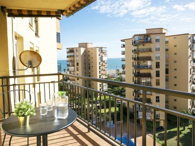 Photo for SEA VIEWS, BRIGHT & BEACH - Apartment for 4 people in Torremolinos