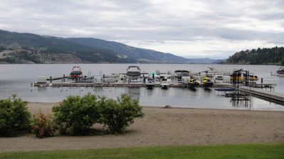Photo for BEAUTIFUL LAKEFRONT, GROUNDFLOOR CONDO AVAILABLE, IDEAL UBCO RENTAL