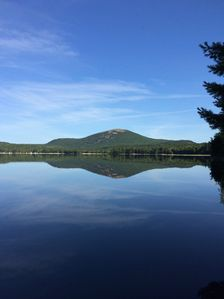 Photo for Lakefront cottage near Acadia and Bar Harbor.