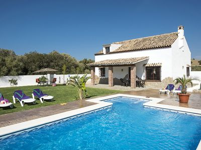 Photo for 3 bedroom Villa, sleeps 7 in La Zahora with Pool, Air Con and WiFi