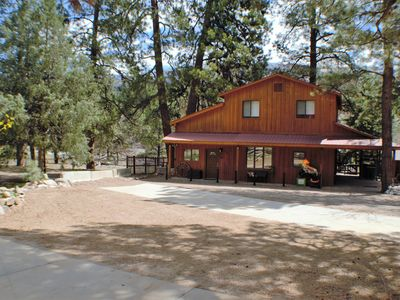 Photo for Newly Remodeled Guest House on River, Pet Friendly, Yard , Fenced Dog Pen, Close to Town and Ski
