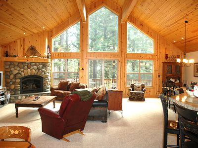 Photo for Tahoe Woods: 3 BR / 2.5 BA house and ski lease in Tahoe City, Sleeps 8