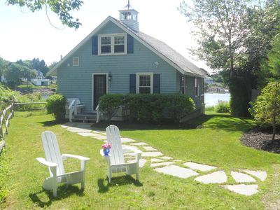 Photo for Oceanfront, Cove Cottage W/Harbor Views, Aug 24, Sept 28 & Oct 5th wks are open
