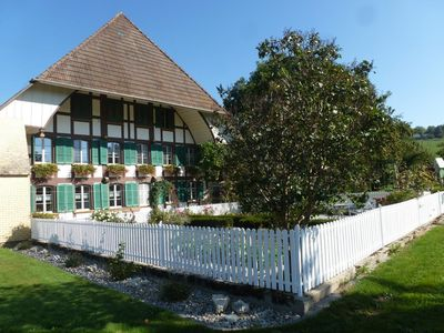 Photo for Holiday apartment Auswil for 5 - 6 persons with 1 bedroom - Holiday apartment in a farmhouse
