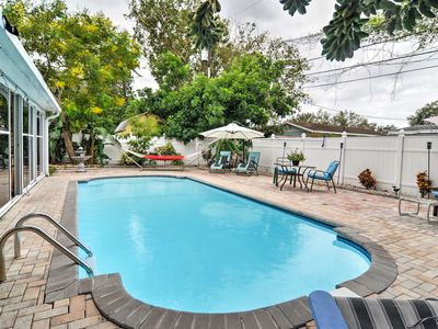 Photo for St Petersburg Home w/Pool-4 Miles from Downtown!