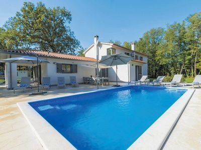 Photo for 4 bedroom Villa, sleeps 8 in Santalezi with Pool, Air Con and WiFi
