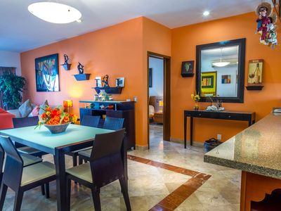 Photo for 3 bedroom condo directly in front of the amazing pool in Paseo del Sol by BRIC