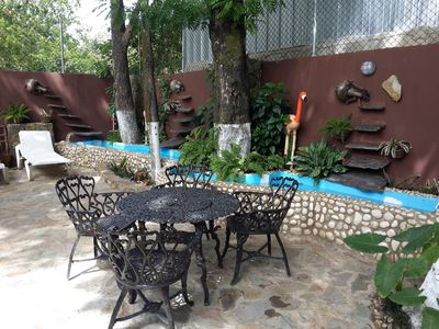 Guest-Friendly 2-Bedroom Apartment in Sosua Center, Internet, Cable TV, A/C