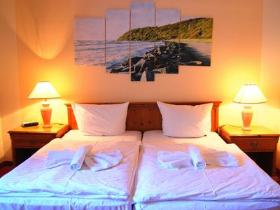 Photo for Double rooms 24 - Hotel Heiderose on Hiddensee