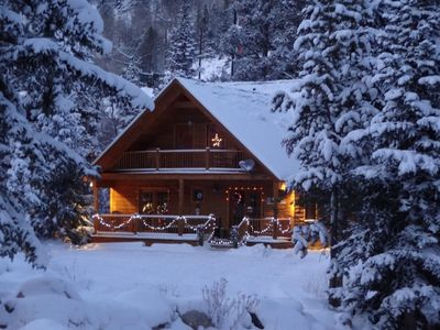 Photo for Forest Creek Cabin  - The Skiing is Great- Beautiful Mountain Getaway!