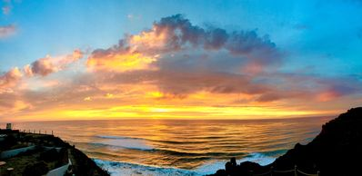 Photo for Relax Over Drinks at Pacific Oceanfront Condo-See Jaw dropping Sunsets