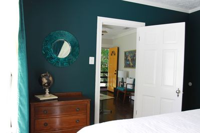 3 - The colors and decor are striking and luxurious.