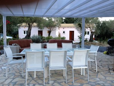 Photo for A - Holidayhome 2-4 people / living in the middle of an olive grove, 3 km to the sea,
