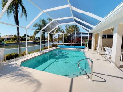 Photo for Enjoy Stunning Sunsets in this Cape Coral Fresh Water Canal Home with Tranquil Views of the Water