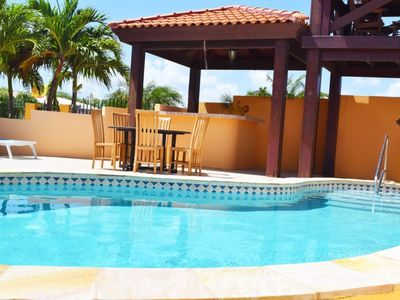 Photo for Spacious Vacation Villa in Noord Sleeps 6-8 persons