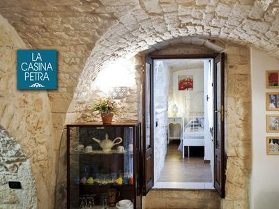 Photo for Casina Petra romantic stone house FREE WiFi