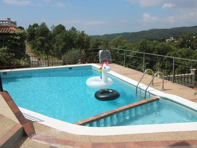 Photo for HOLIDAY HOUSE FOR 6 PEOPLE 7 KM.  BEACH, PRIVATE SWIMMING POOL AND SECURITY