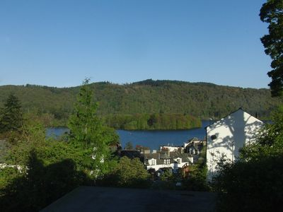 The stunning lake view from the lounge looking west