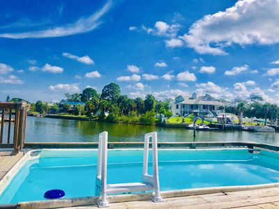 #1 most rented. Safe and clean Paradise! Direct gulf, dock, pool, bikes, kayaks