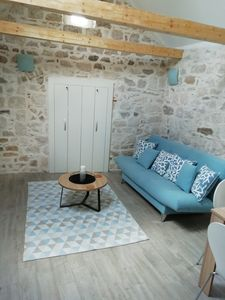 Photo for Beautiful renovated apartment in a historical stone house