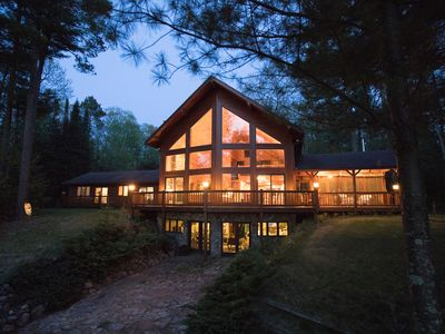 Photo for *NEW LISTING* BIRCH BRAE-Amazing House On Big Lake,  Surrounded By Woods And Art