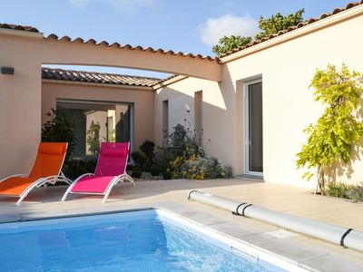 Photo for Villa with pool, in a park, quiet area, 6 people, 3 bedrooms