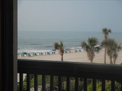 Photo for Ocean view - just units away from ocean front with off beach prices