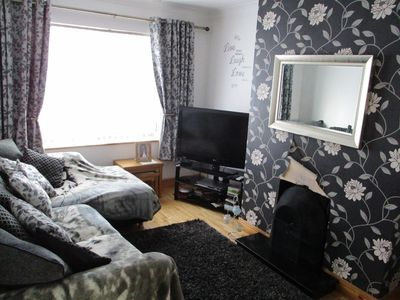 Photo for Moville Centre Apartment 2 bedroom cosy with parking