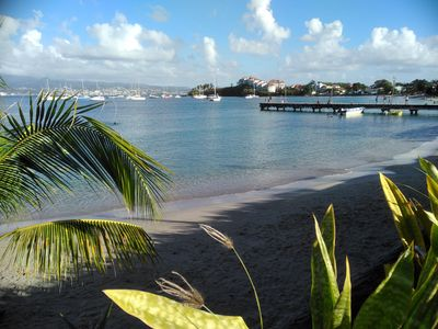 Photo for Beautiful luxury apartment close to the beach of Anse Mitan