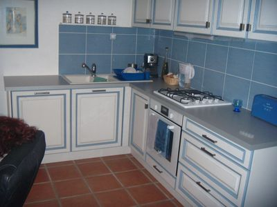 Photo for Apartment for 4 people with access to beach walk and magical sea view.
