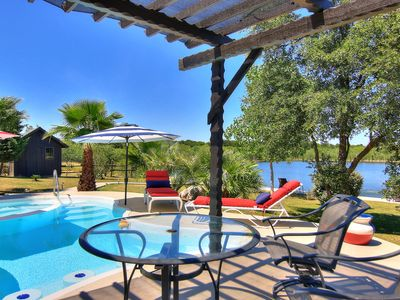 Photo for Fabulous 65-acre Ranch! Pool/ Hot Tub 4 miles to the river and Schlitterbahn!