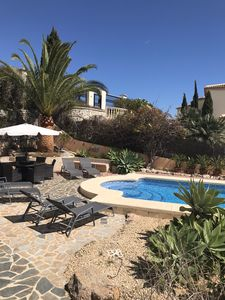 Photo for Private Luxury villa with sea views  gardens and 8x4 mtr  pool