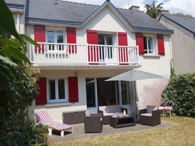 Photo for House 485 m from the center of Carnac with Parking, Internet, Washing machine, Terrace (666255)