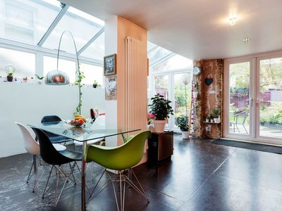 Photo for Colourful and stylish 3 bedroom home, with beautiful private garden (Veeve)