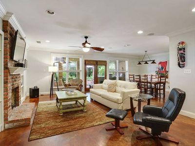 Photo for Garden District Spacious Home w Gated Parking