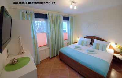 Photo for Apartment Dünengras - 80 meters to the Baltic Sea beach - 1 bedroom with sea views