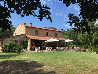 Photo for Campo di Carlo Farmhouse on the Hills of the Etruscan Coast