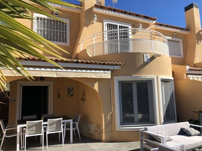 Photo for Beautiful villa - very sunny with 3 bedrooms and great communal pool