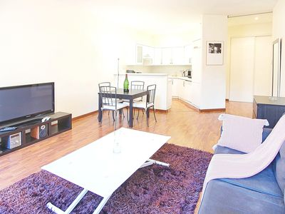 Photo for Unique apartment in center of Cannes, 300 meters from beaches, Croisette, Palais des Festivals