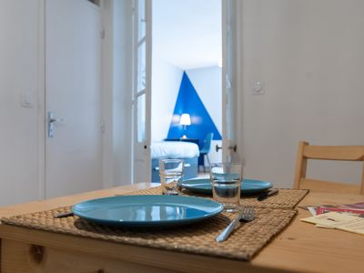 Photo for Charming T2 Ctre Town - Prox Station - Fully Furnished Personalized Home