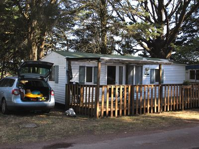 Photo for Mobile home 4/6 people camping 4 stars