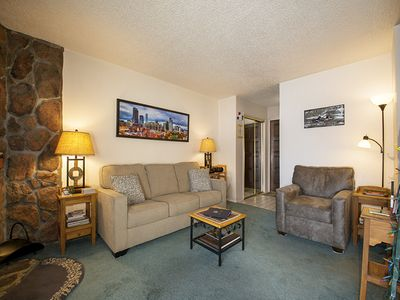 Photo for Roomy 1 bedroom rental across from Club Meadow Ridge with updated interior design