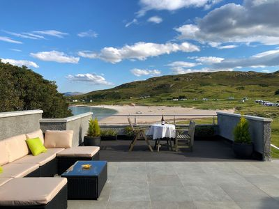 "Photo for Mellon Udrigle ""Heaven on Earth"",Luxury 6 bed Beach House, sea views"